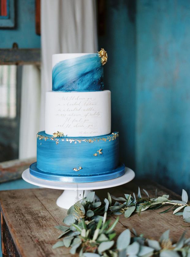 Személyre szabott esküvői torta